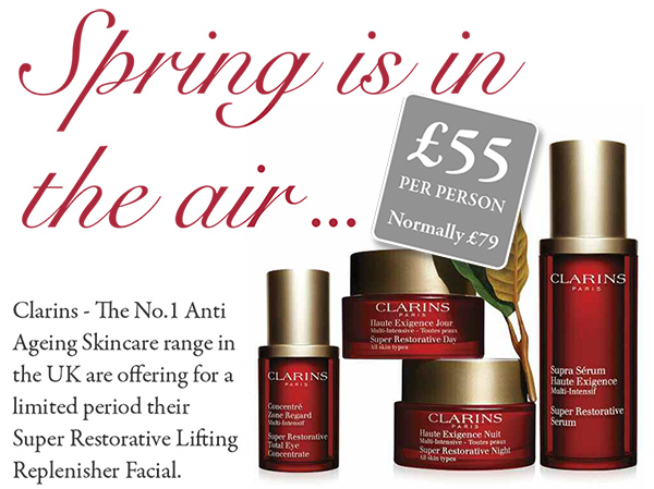 Clarins Anti-Ageing Skincare Offer