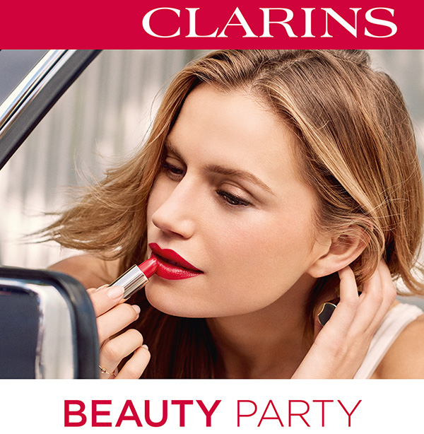 Clarins Beauty Party