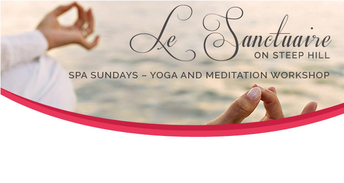 Spa Sundays – Yoga and Meditation Workshop