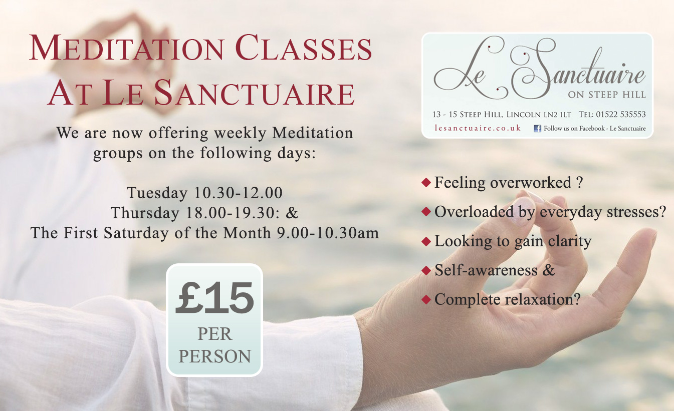 Le Sanctuaire Meditation Classes