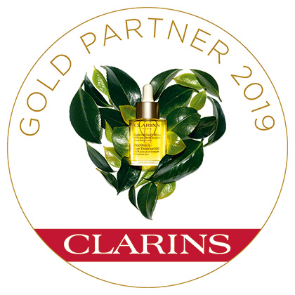 Clarins Gold Salon Status