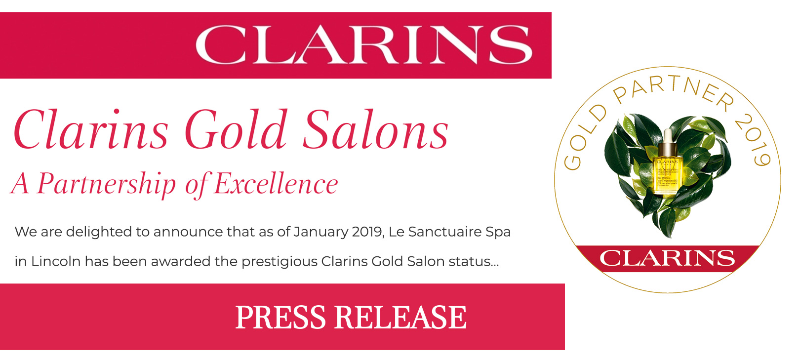 clarins-gold-press-release