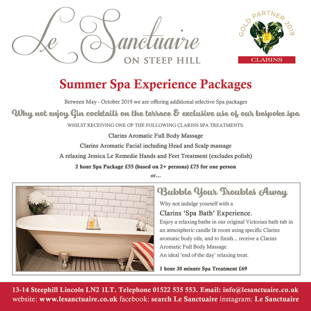 Summer Spa Experience Packages