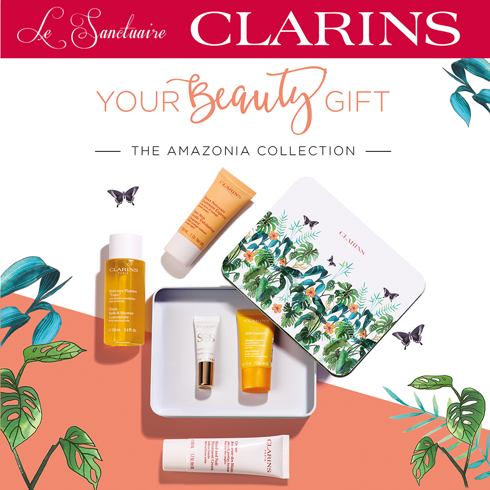Clarins Beauty Gift Promotion